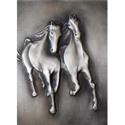 chevaux au galop duo