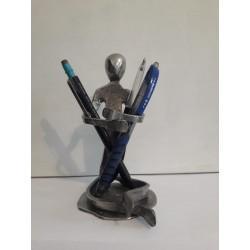 sculpture en métal porte...