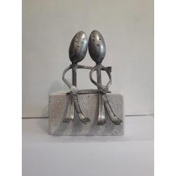 sculpture en métal les...